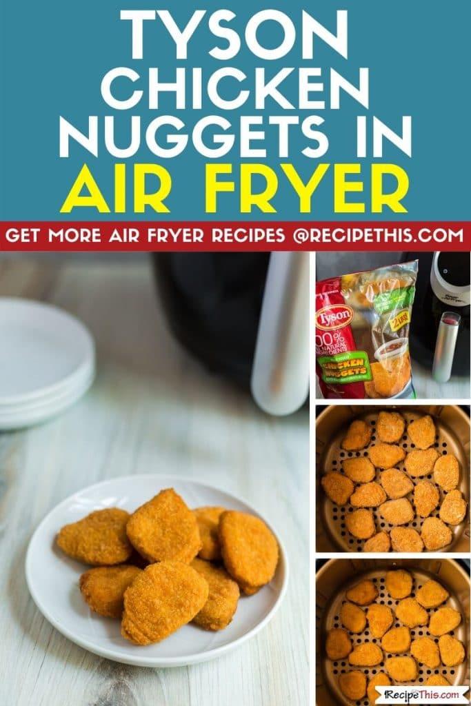 Tyson Chicken Nuggets In Air Fryer Recipe This Recipe