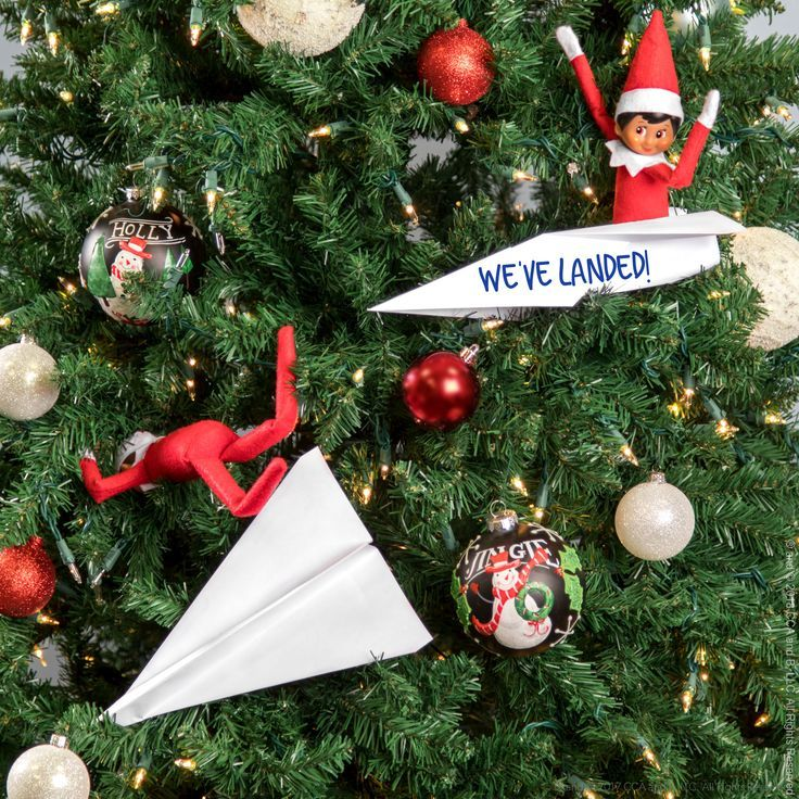 Elf on the Shelf Ideas | Ideas for Scout Elves | Welcome Back Ideas for Elves | Easy Elf Ideas