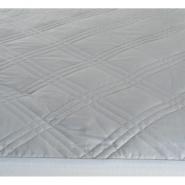 Odyssey Living 100 Diamond Cotton King Single Mattress Protector Mattress Topper Quilted Microfibre Co Mattress Protector Mattress Single Mattress