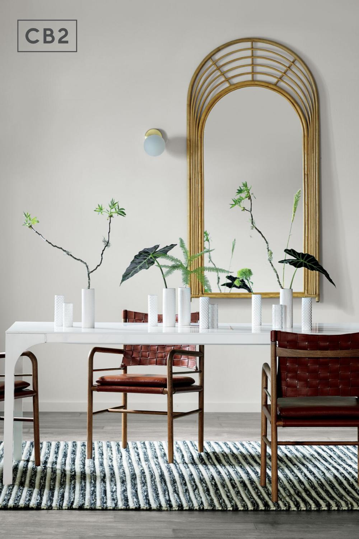 Aqua Virgo Large White Dining Table Reviews Cb2 White Dining Table Dining Table Modern Dining Room