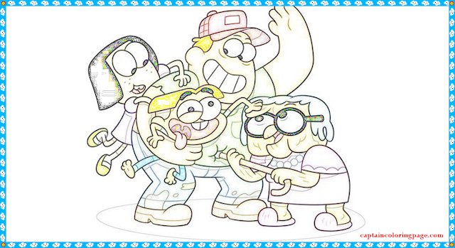 Big City Greens Coloring Page In 2020 Coloring Pages Kids Coloring Books Coloring Books