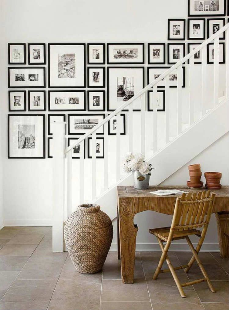 12 Shocking Ideas to Create Nice Looking Family Gallery Wall ...
