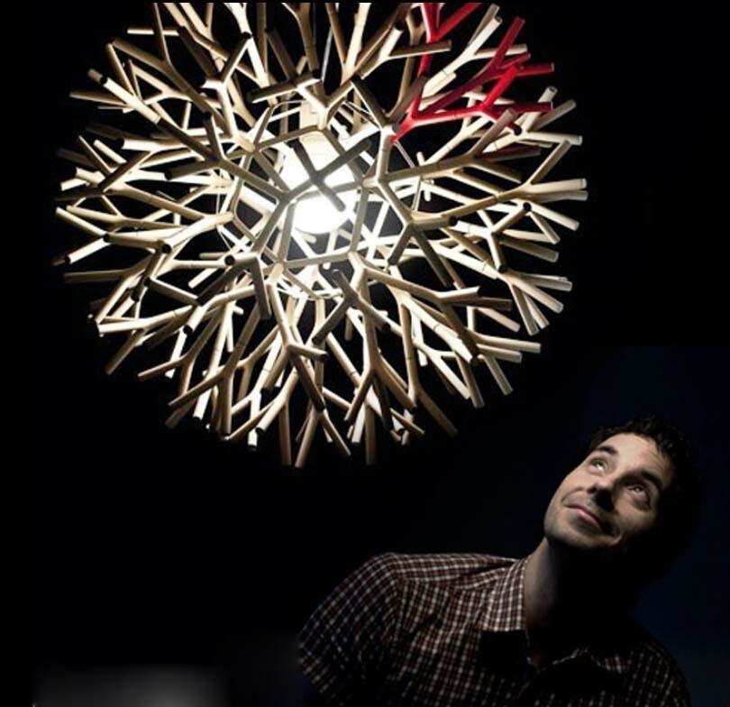 Moderner Einfacher Coral Lampen Cooler Blick Pendelleuchten Gestaltet Von Pallucco Pp Pendelleuchte Wohnzimmer Licht Esszimmer