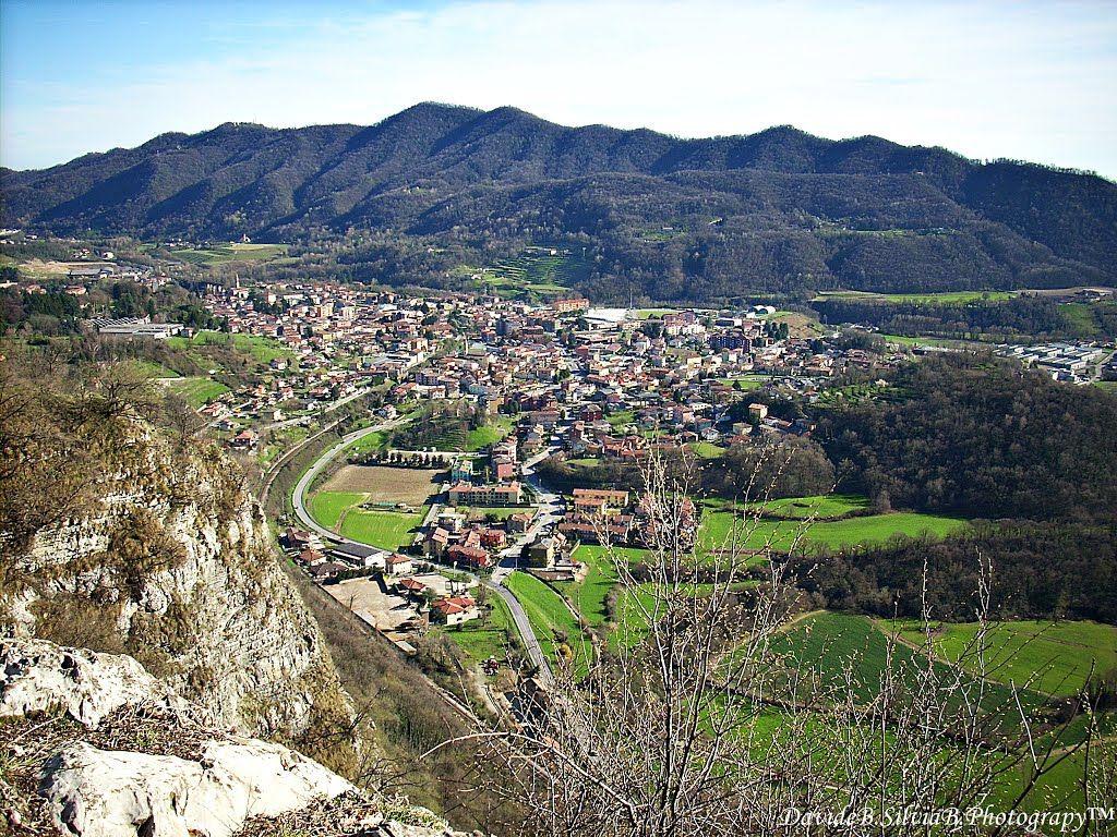 Cappello dell alpino(panorama verso Cisano monte canto)  8d0895e8217f