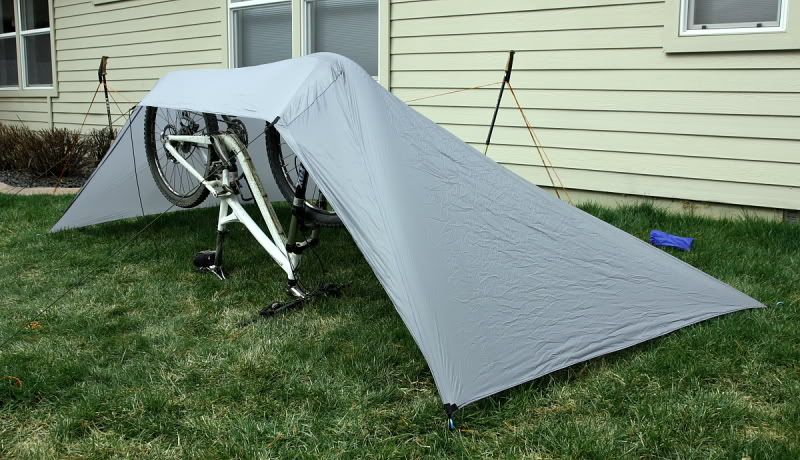 Bikepacking Tarptent Build PIC Heavy