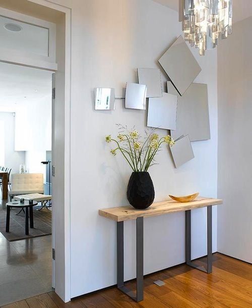 Amazing Contemporary Entry Table Vignette   Google Search