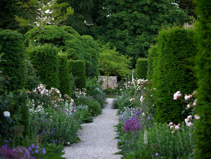 Cotswold Garden in the Windrush Valley in England by Jinny Blom