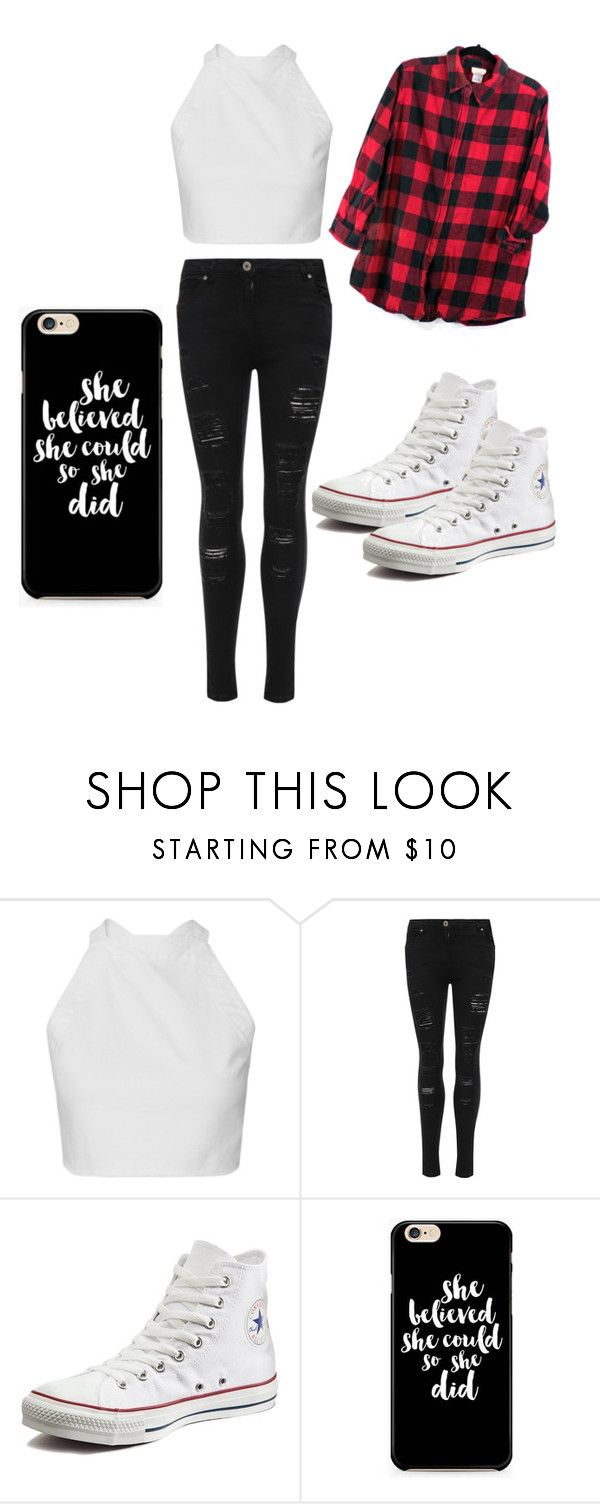 """""""TomGirl"""" by princesscouture1229 on Polyvore featuring WearAll and Converse"""