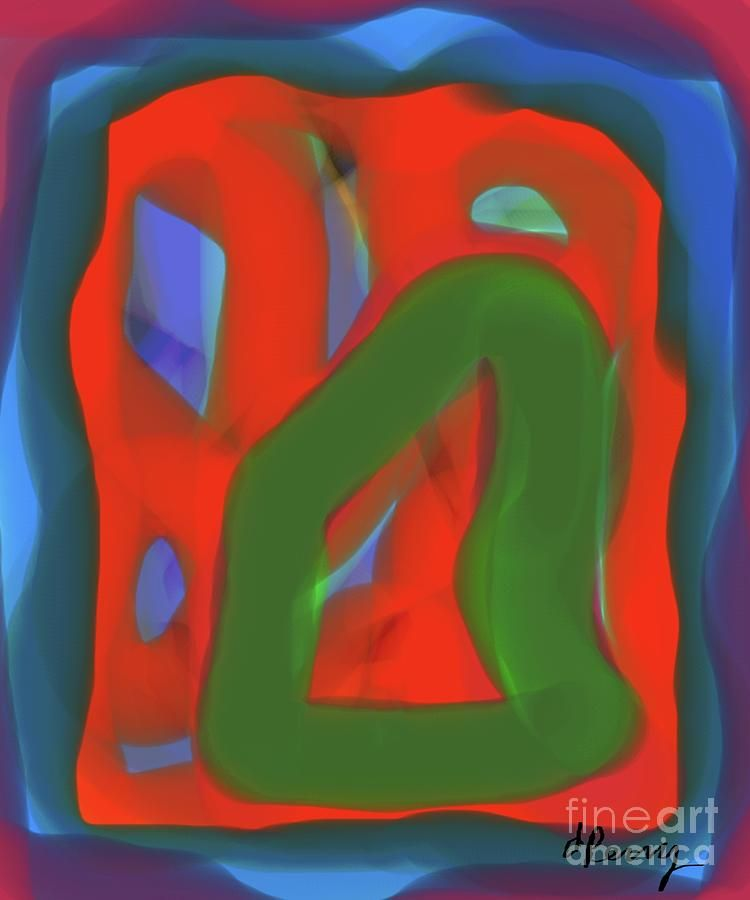 Digital Art - Fitting In by D Perry #sponsored, , #Affiliate, #affiliate, #Art, #Fitting, #Perry, #Digital