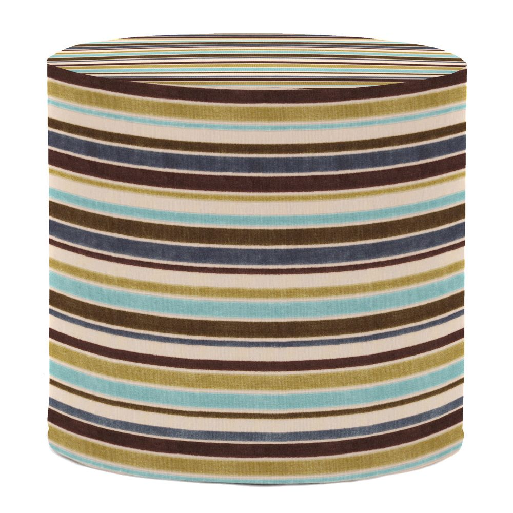 Howard elliott ribbon willow no tip cylinder ottoman howard