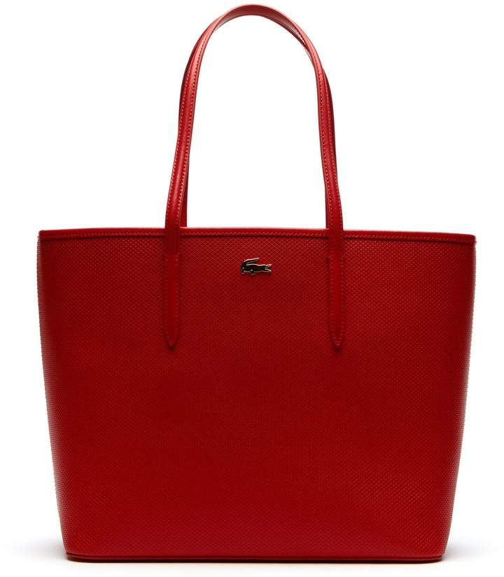 75ef2d2895 Lacoste Women's Chantaco Pique Leather Tote Bag | Products in 2019 ...