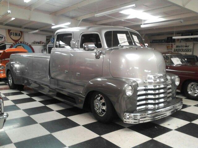 Big grey old truck