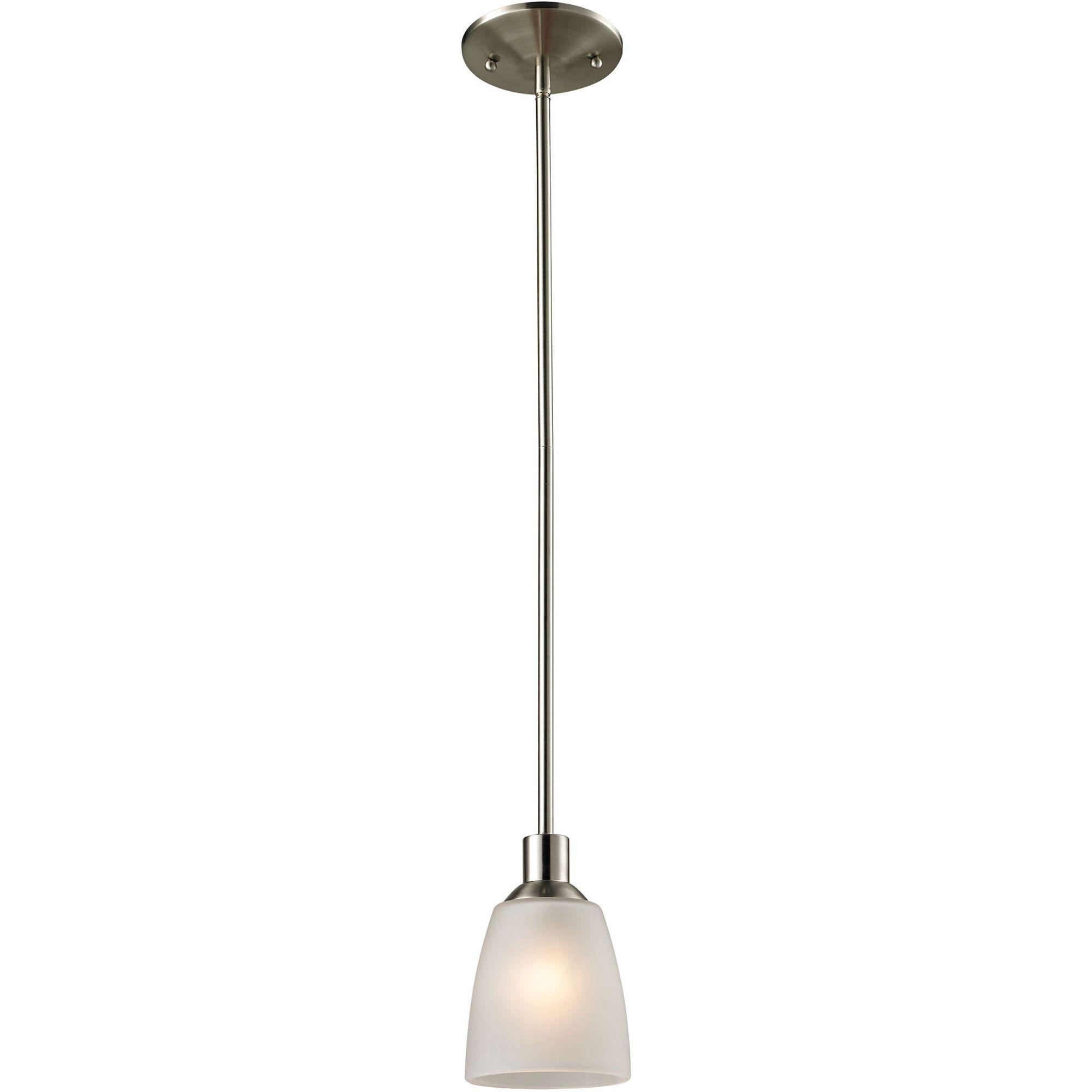 Jackson 1 Light Mini Pendant In Brushed Nickel | Cornerstone Lighting |  Home Gallery Stores