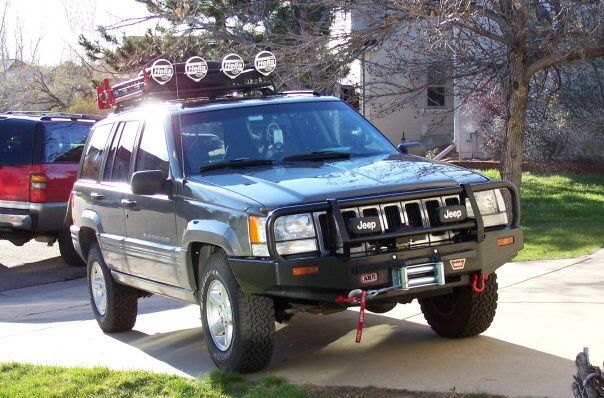 My 1st Off Road Toy 1998 Jeep Grand Cherokee 5,2 L Off Road