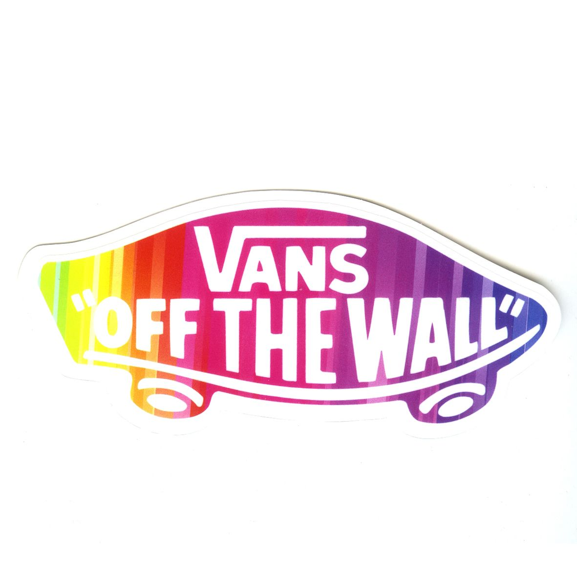 1311 vans off the wall logo width 9 cm decal sticker on wall logo decal id=16145