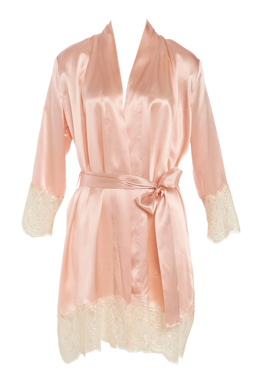 Image for Silk Lace Gown from Peter Alexander   women bedtime stuff ...
