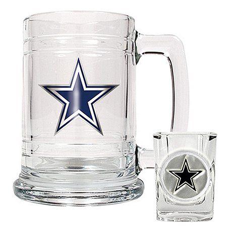 Dallas Cowboys Boilermaker Set