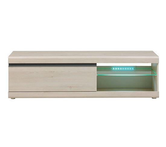 Meuble TV 1 tiroir BAROLO Pin blanchi | Meuble tv, Achat ...