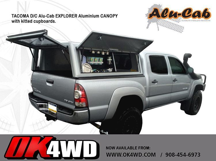 Alu Cab Kitted Tacoma What Do You Think Usa Available From