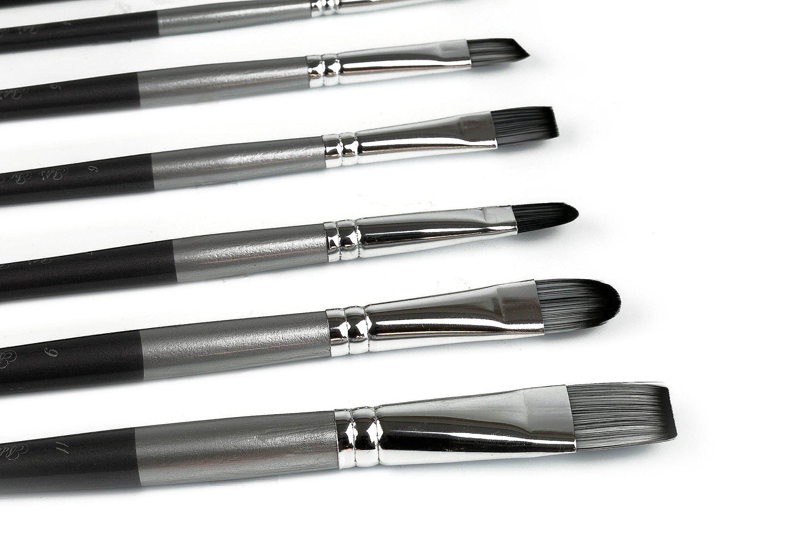 Adis Art Pro Paint Brushes Set for Acrylic Oil Watercolor