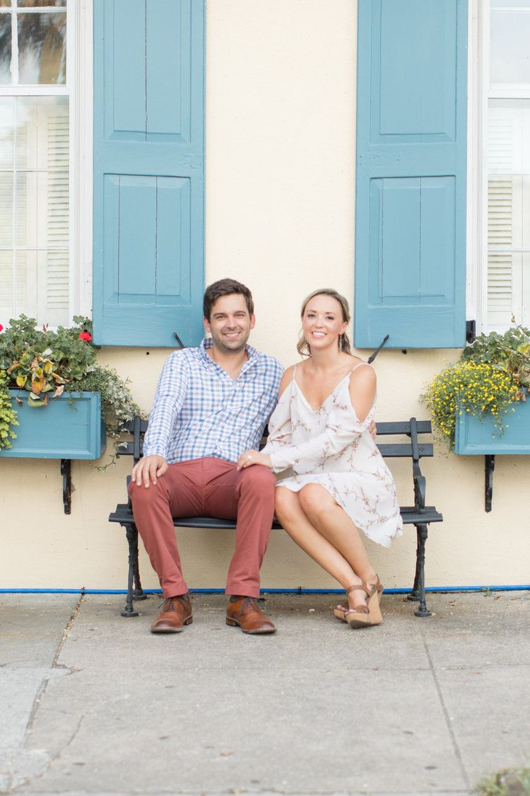 Kelsey + Chris Downtown Charleston Engagement Session