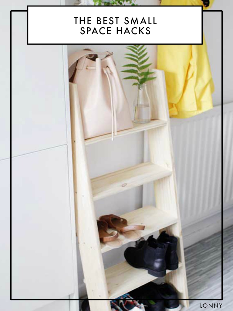 30 Small Space Hacks You Ve Never Seen Before Diy Small Apartment Shoe Storage Design Small Space Hacks