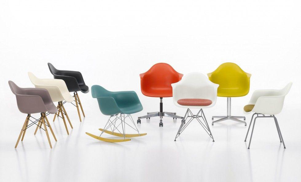 Eames Plastic Armchair - Vitra | arredamento | Sedie, Arredamento ...