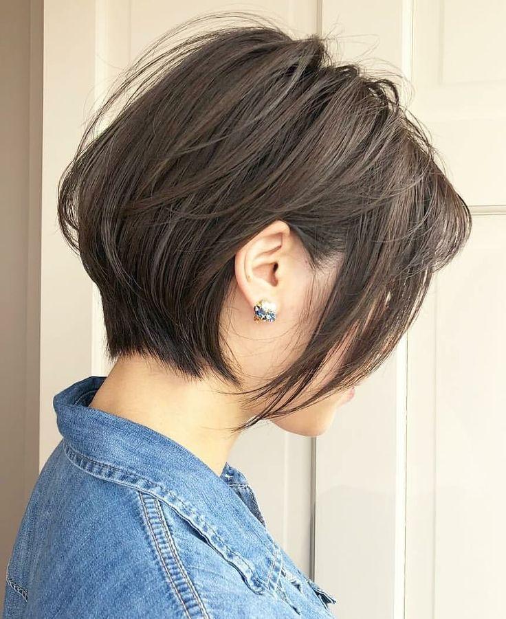 Ten Trendy Short Bob Haircuts for Female, Best Short Hair Styles 2019 - #Bob #female #Hair #Haircuts #Short #Styles #ten #trendy #modefürfrauen