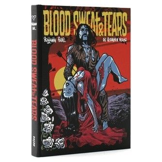 Blood Sweat and Tears, the comic art and illustrations of Benjamin Gudel
