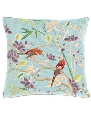 Gump's 'Fantasy Bird' Decorative Pillow