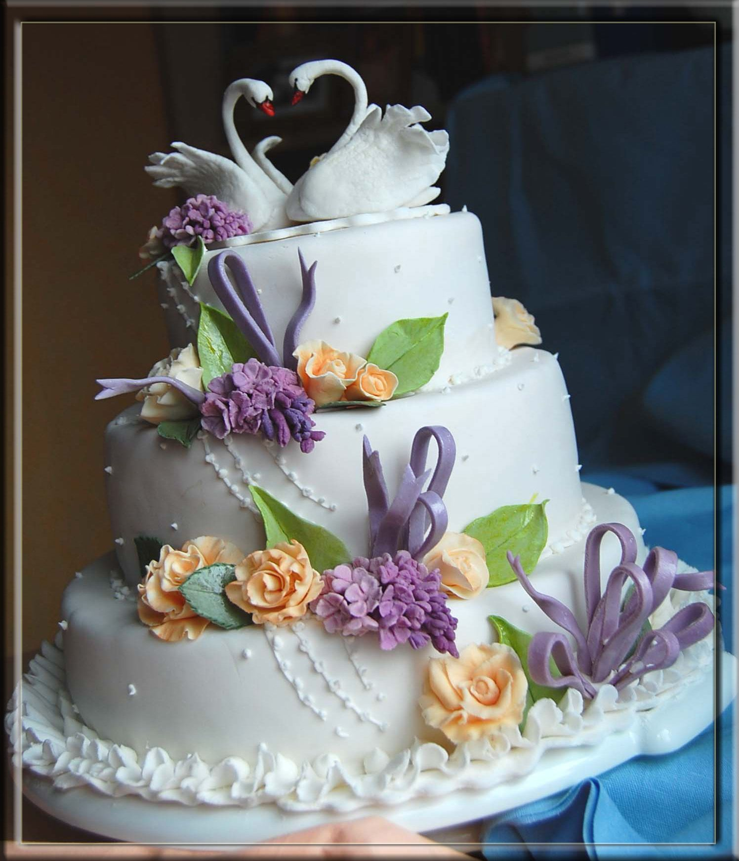 торты свадебные. картинки