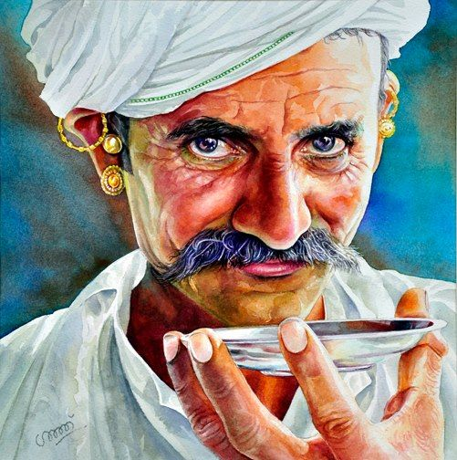 Best Watercolor Portraits By Famous Artists Watercolor Portrait