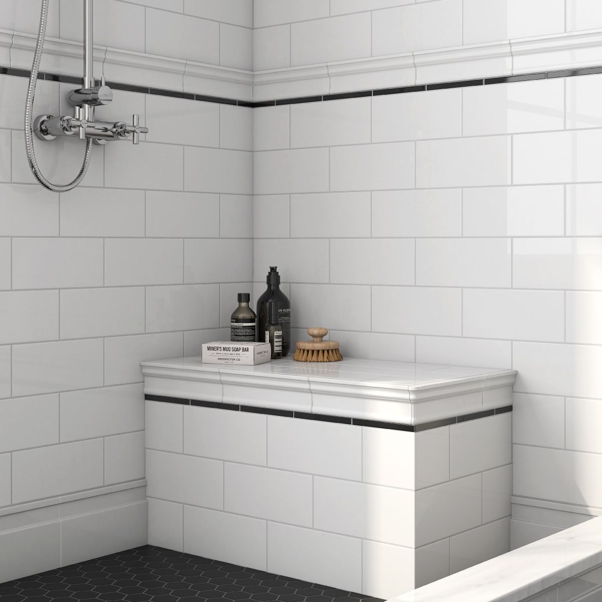 Decorative Accents Collection Ceramic Wall Tile Accents And Trims