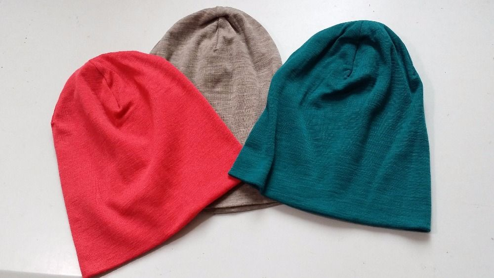 Men Women 100 super fine Merino wool Beanie hat running Running riding  winter thermals fleece cap f05ec0f4a8f5