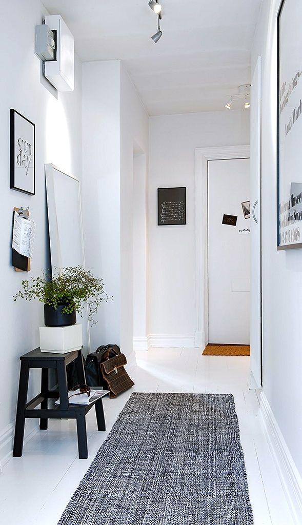 Un Tapis Dans Mon Entree Comment Decorer Un Couloir Mobilier De Salon Entree Maison