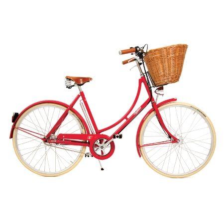 Britannia Ladies Traditional Bike With Wicker Basket Pashley