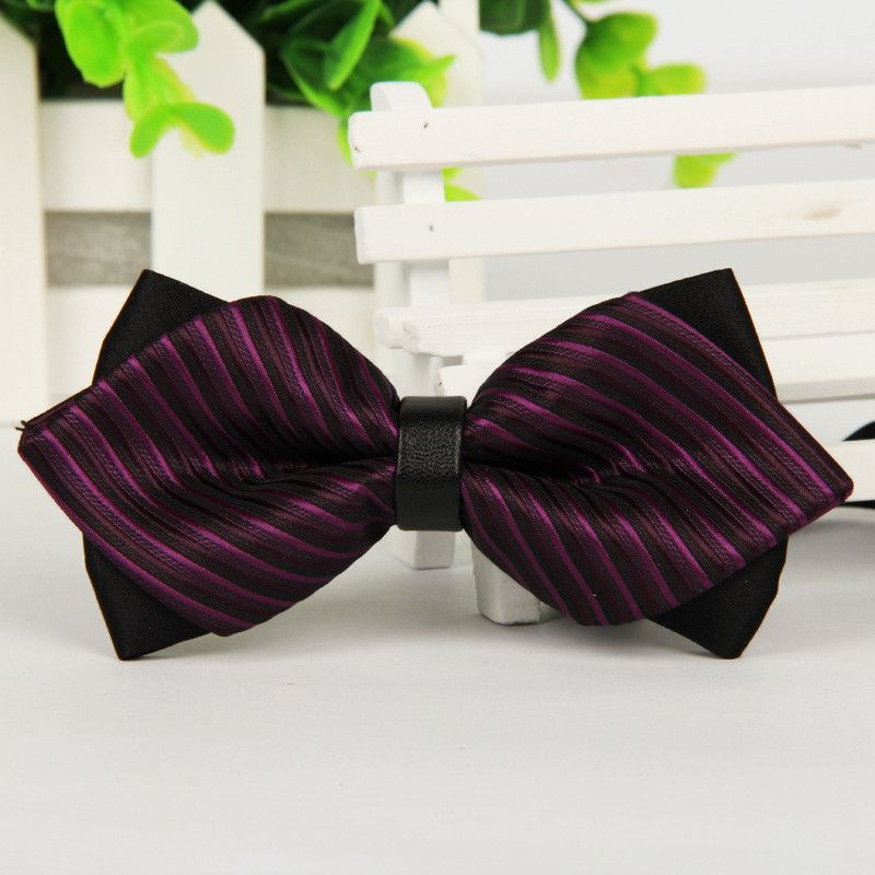 New Fashion new Formal commercial men bow tie male solid marriage bow ties for women candy color butterfly