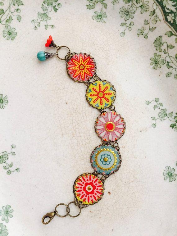 Tin Jewelry Bracelet Kaleidoscope Tin for the Ten by TheMadCutter