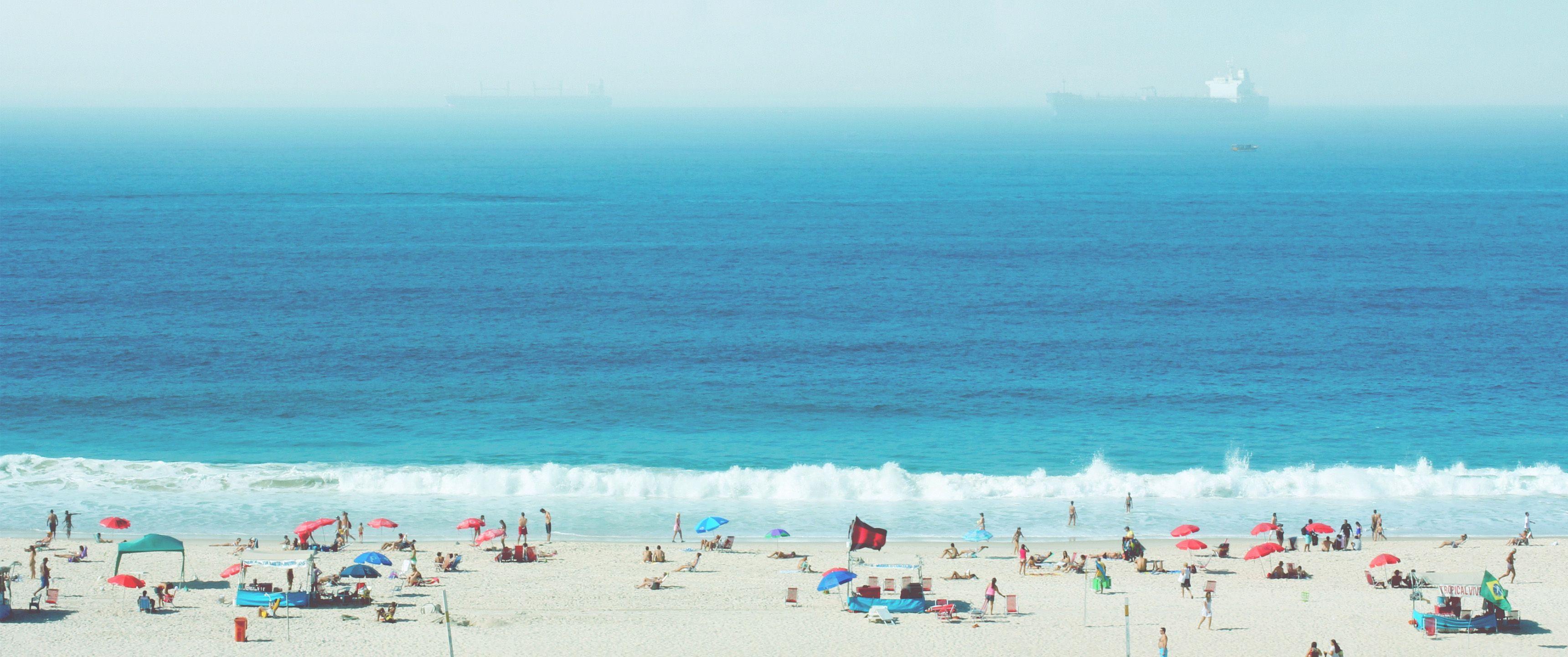 80's Beach 219 Ultrawide HD Wallpaper (3440x1440) 비치