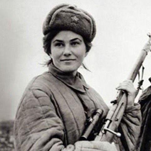 Image result for Lyudmila Mikhailovna Pavlichenko