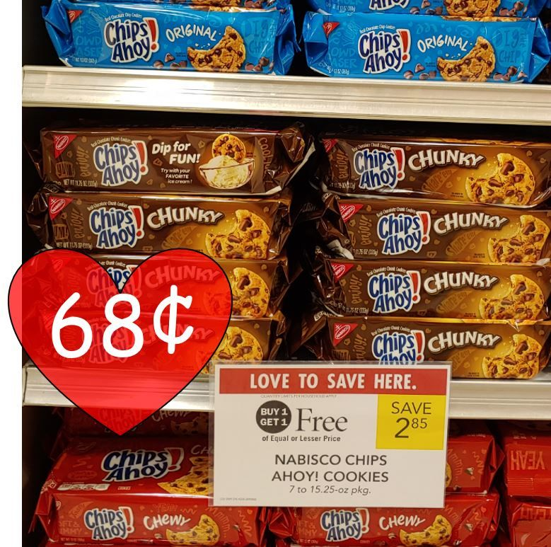 It is a picture of Shocking Chips Ahoy Coupons Printable