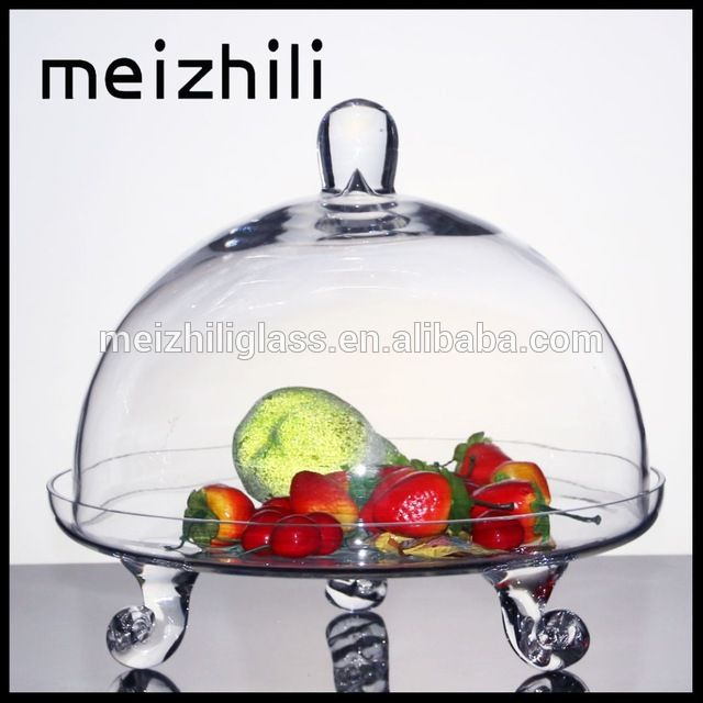 Source Wholesale glass dome cake stand for tableware big cake glass with plate on m.  sc 1 st  Pinterest & Source Wholesale glass dome cake stand for tableware big cake glass ...
