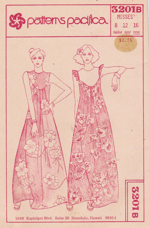 27c1ebdde6faf 1970s Patterns Pacifica 3201 UNCUT Vintage Sewing Pattern Misses ...