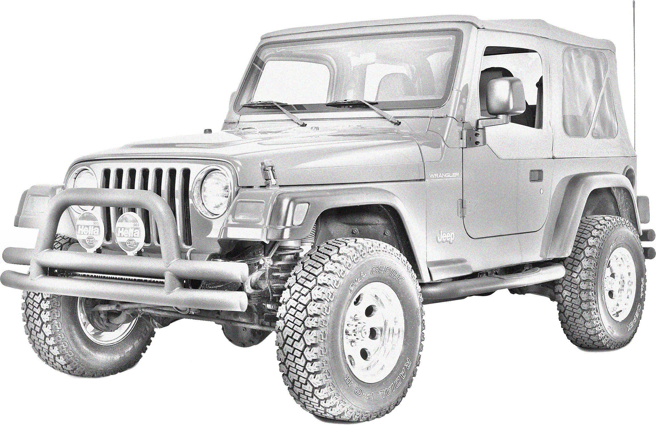 1997 2006 Jeep Wrangler TJ Replacement Parts | Quadratec