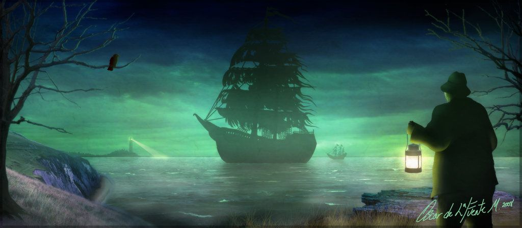Ghost Pirate Ship Photos Ghost Pirate Ship By Oozkr On Deviantart Haunted Pirate Ship Ghost Ship Pirate Ship