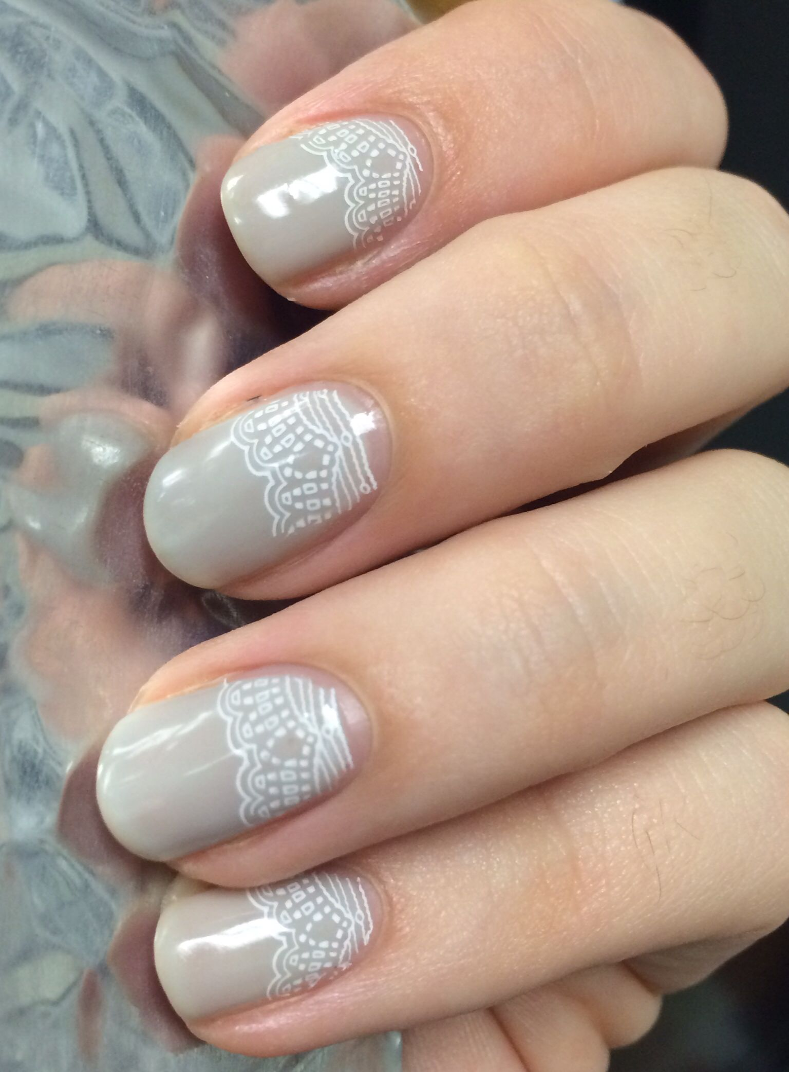 Couture gel polish Private Jet, Konad stamping polish in white ...