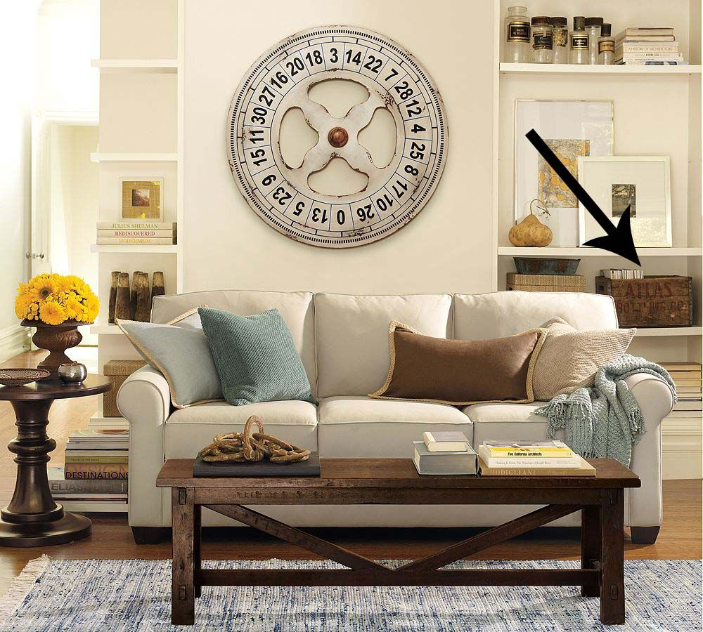 Bon Home Design,interior And Garden: Buchanan Sofa U2013 Living Room Sofa Design By Pottery  Barn