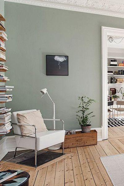 Sage Minimalistas, Combinaciones y Interiores - pinturas para salas