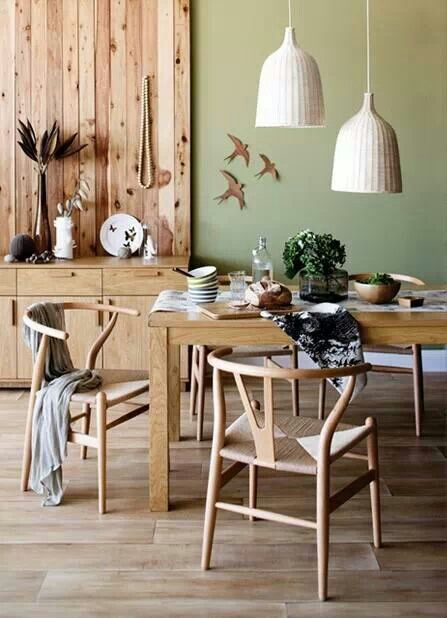 Timber Styling Dining Room Wall Color Pine Bedroom