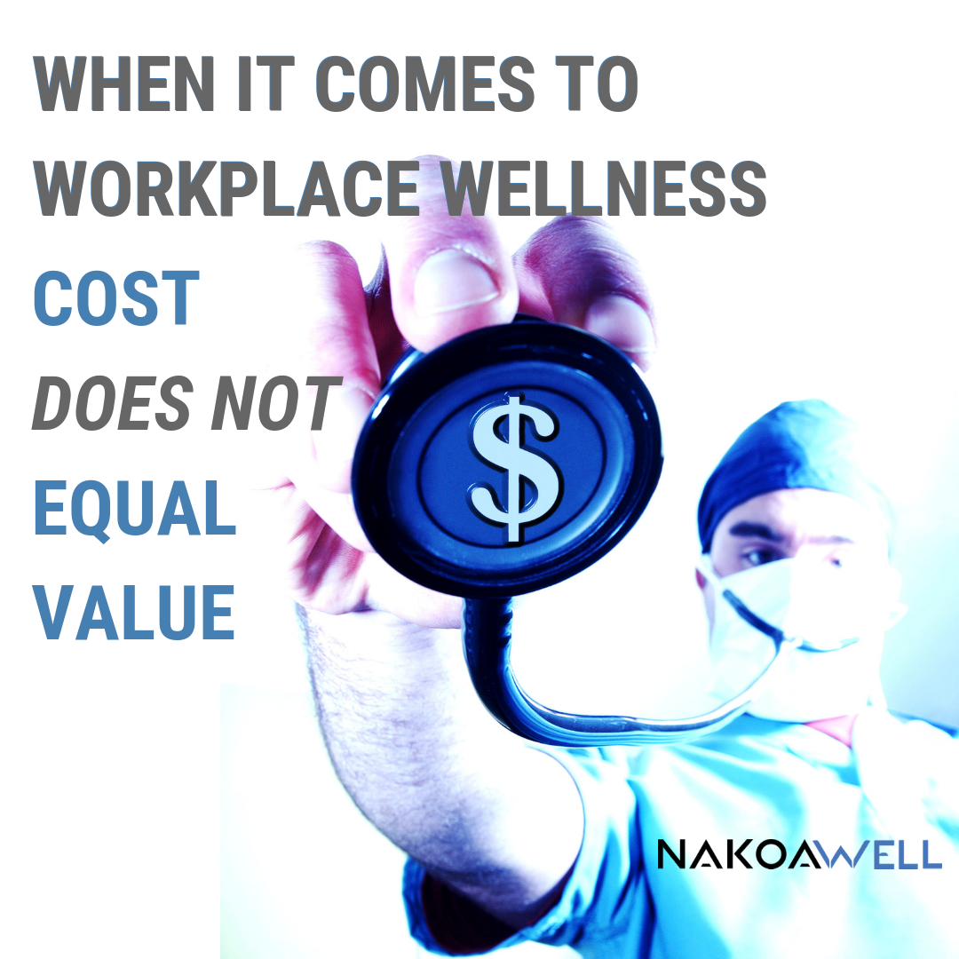 Many Insurance Plans Come With No Cost Wellness Programs But What Is The Real Value And Cost Of T Wellness Solutions Corporate Wellness Workplace Wellness